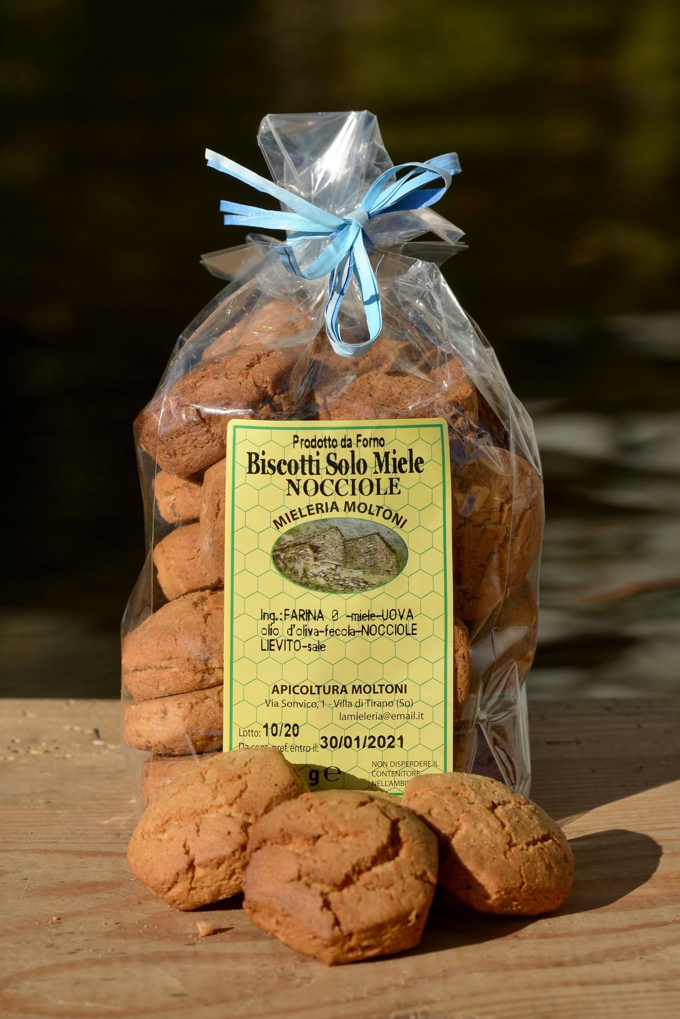 biscotti miele e nocciole