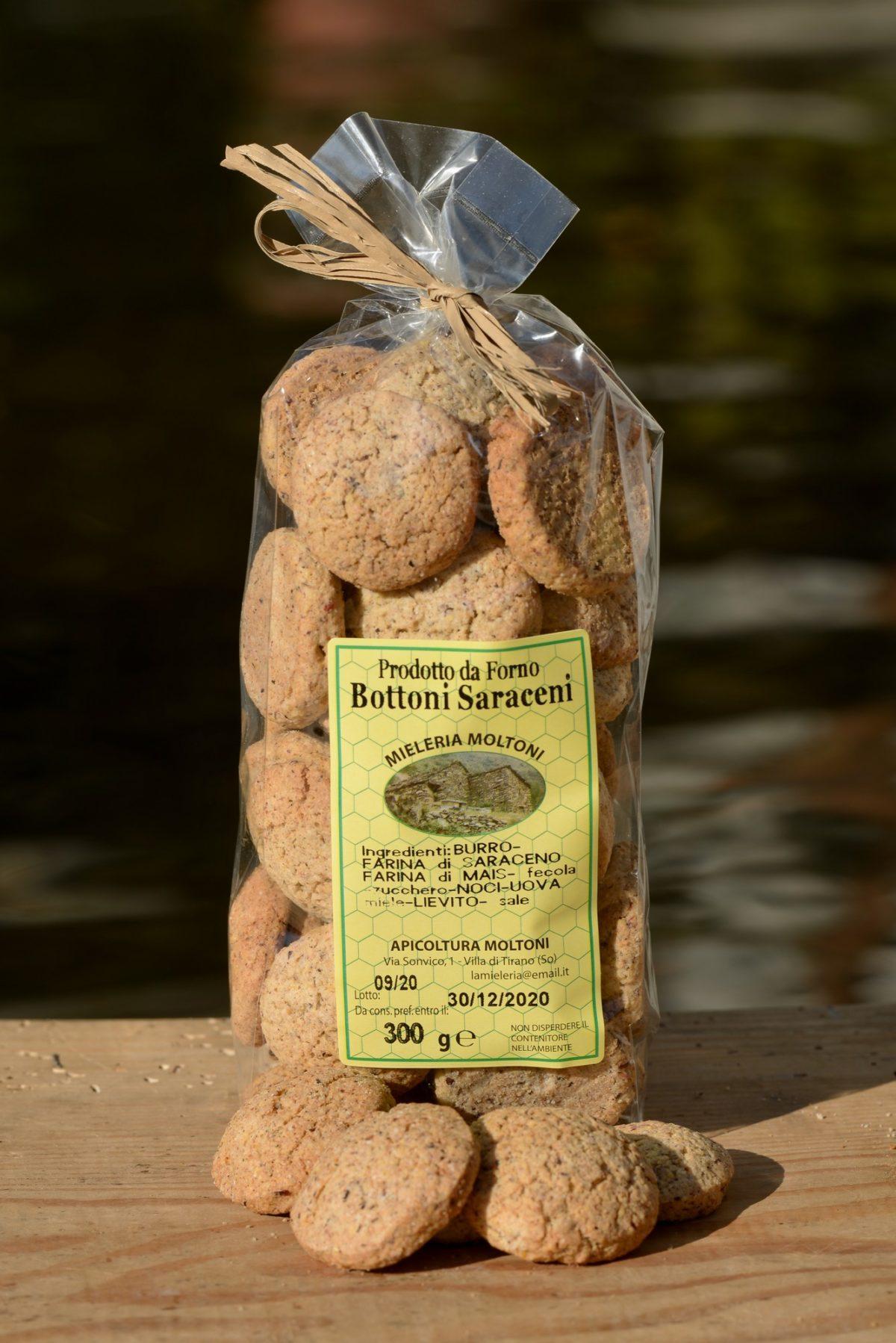 biscotti bottoni saraceni
