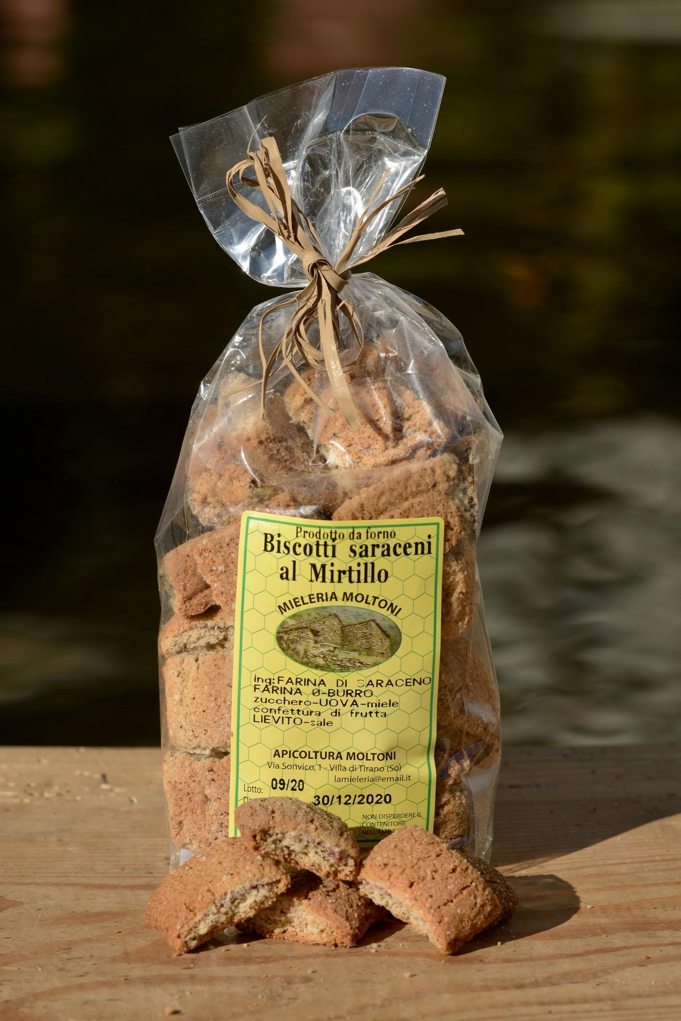 biscotti saraceni al mirtillo